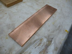 Copper bar to be used for making bus bars