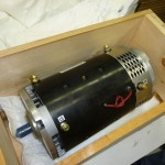 ADC Motor Crate Packing Removed