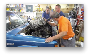Engine removal video