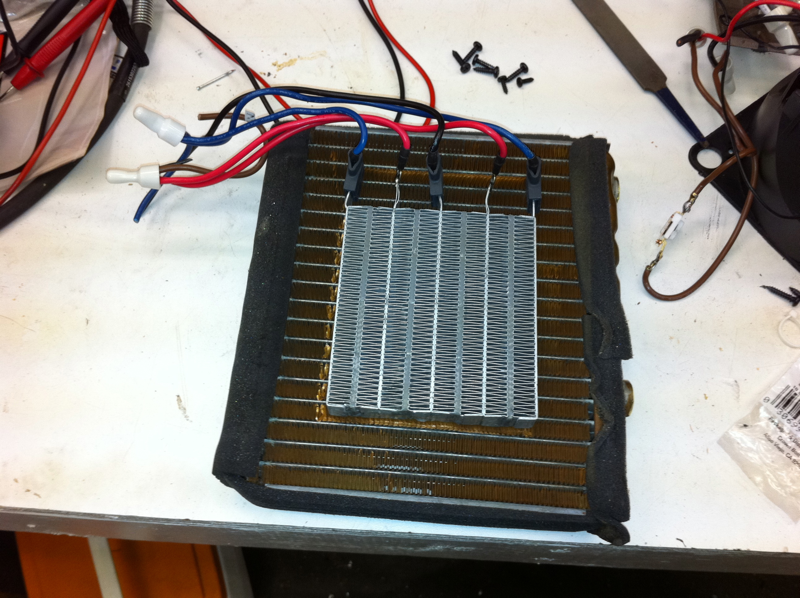 Making The Electric Heater Core